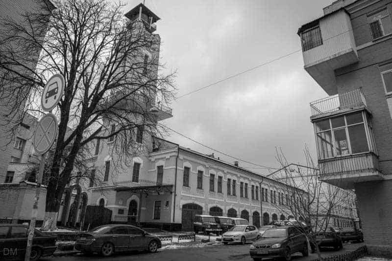 Exterior view of Chernobyl Museum in Kiev, Ukraine