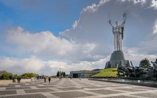 Motherland Monument (Rodina Mat), Kiev Ukraine