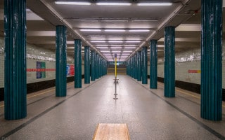 Nyvky Metro Station, Kiev, Ukraine