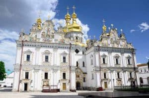 Church of the Assumption at Pechersk Lavra in Kiev, Ukraine