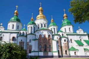 St Sophias Cathedral in Kiev, Ukraine