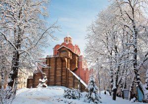 The Golden Gates in Kiev, Ukraine