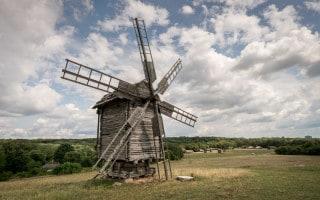Windmill at Pirogovo, Kiev, Ukraine