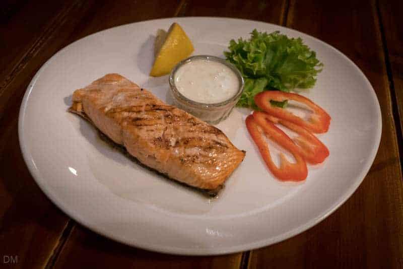 Salmon steak - Sunduk, Kiev