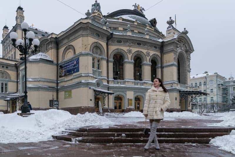 National Opera of Ukraine - Opera Ballet Theatre, Kiev