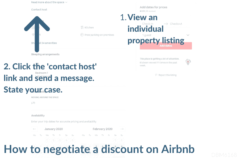 How to ask for a discount on Airbnb